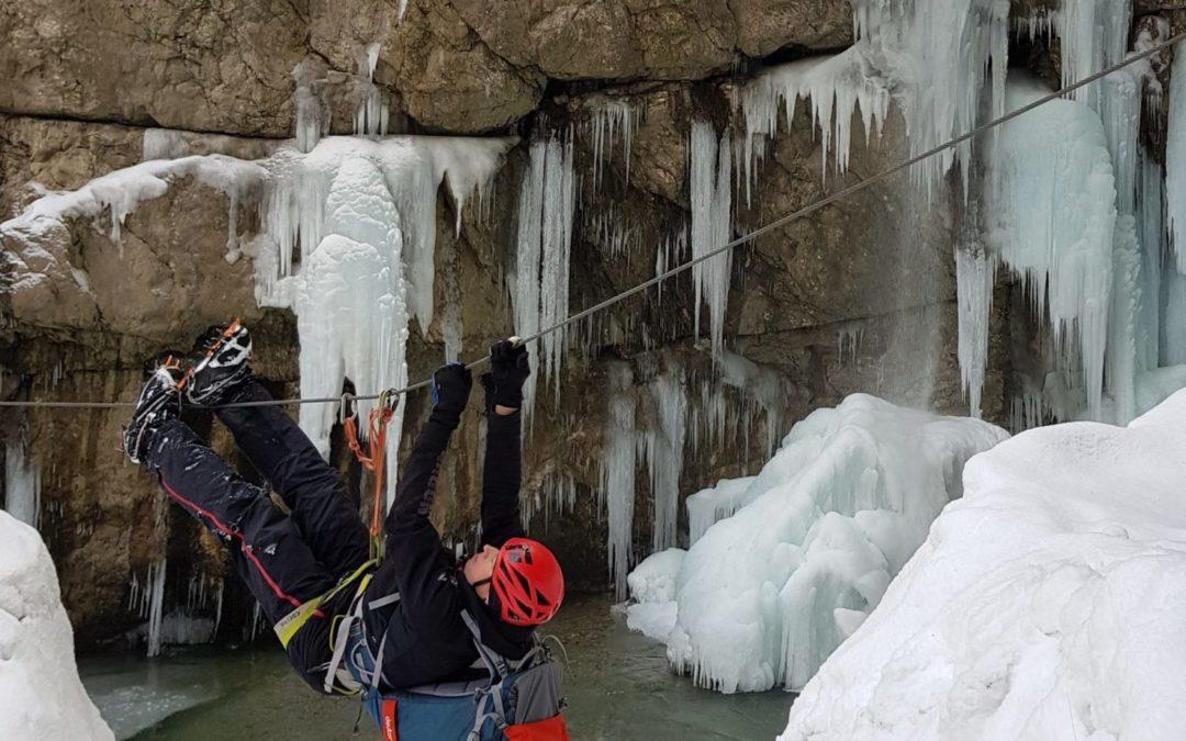 Skitouren und Eisklettern in den Dolomiten