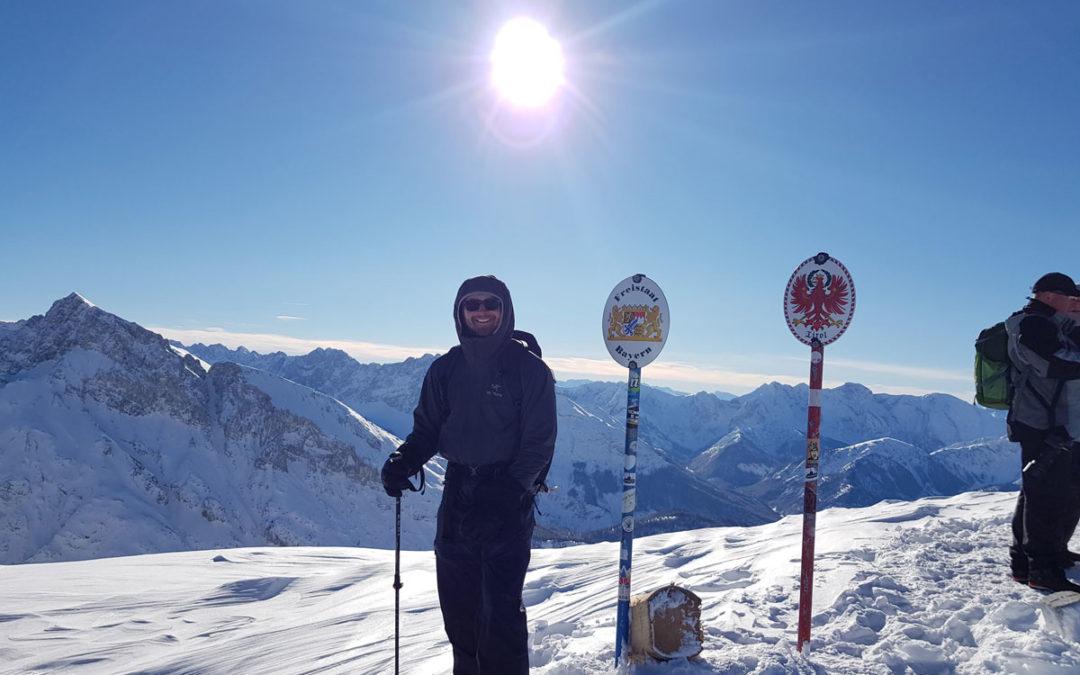 Winterbergsteigen im Karwendel