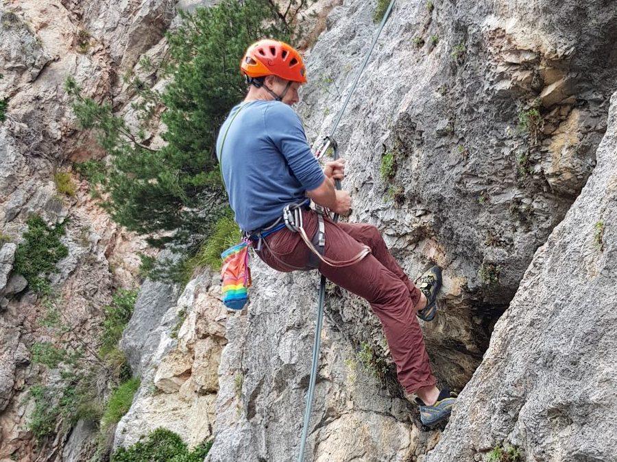 Free Climbing and multi – pitch