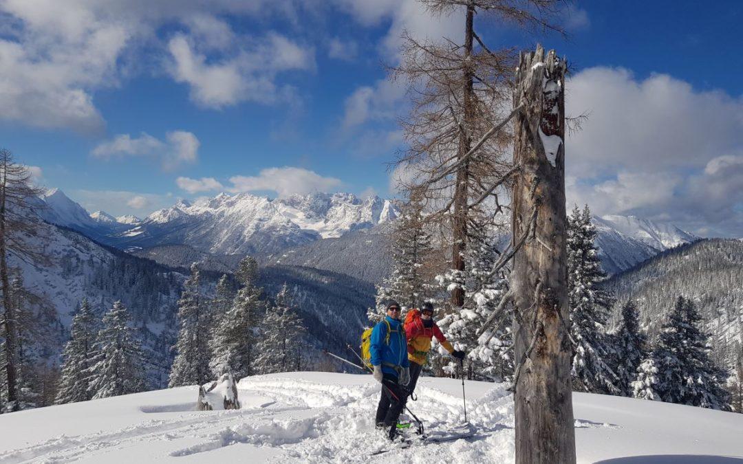 Skitourentage im Karwendel