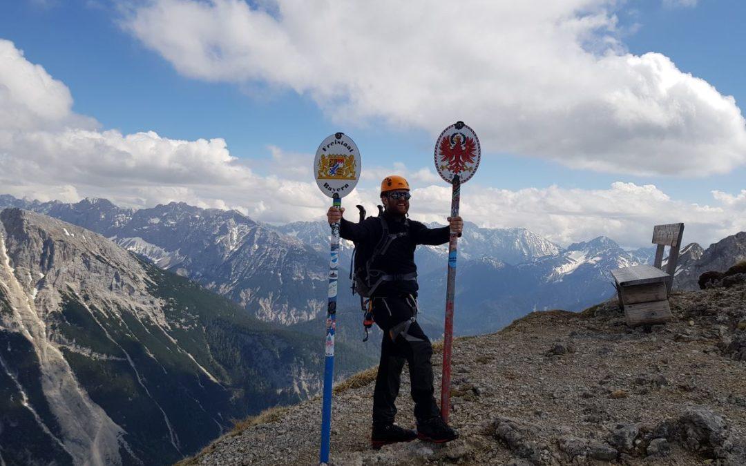 Klettern im Karwendelgebirge