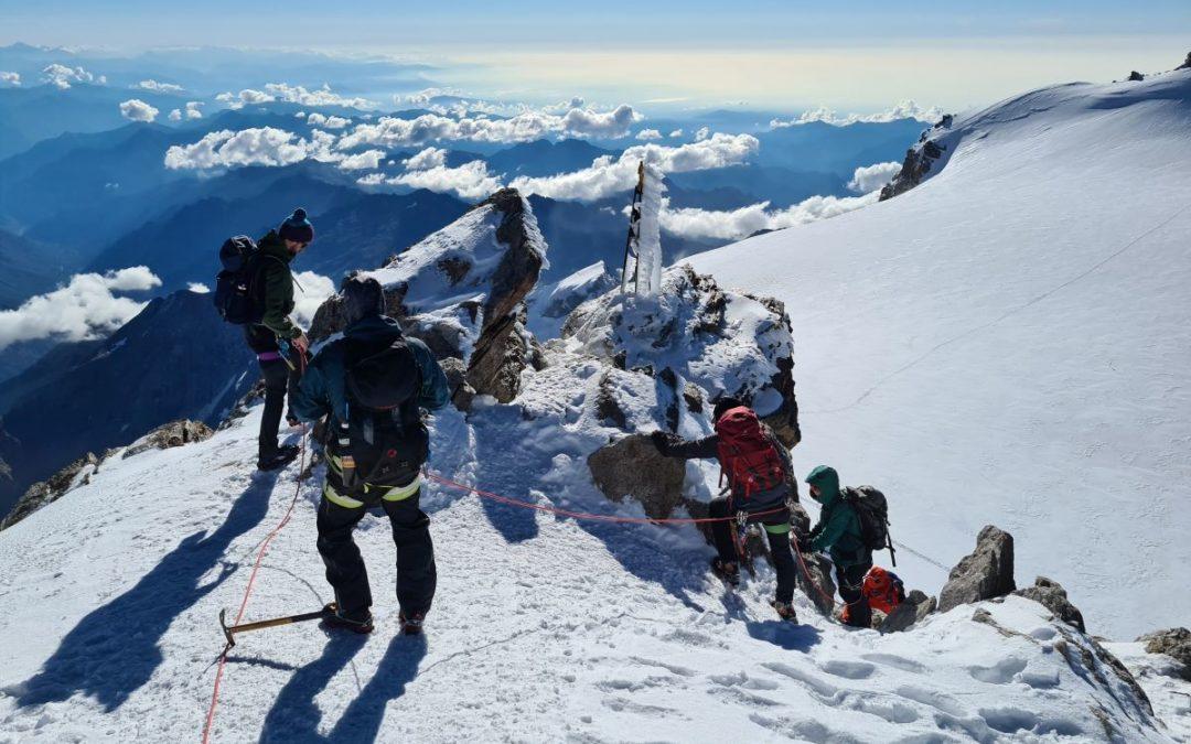 Führungswoche Gran Paradiso und Monte Rosa