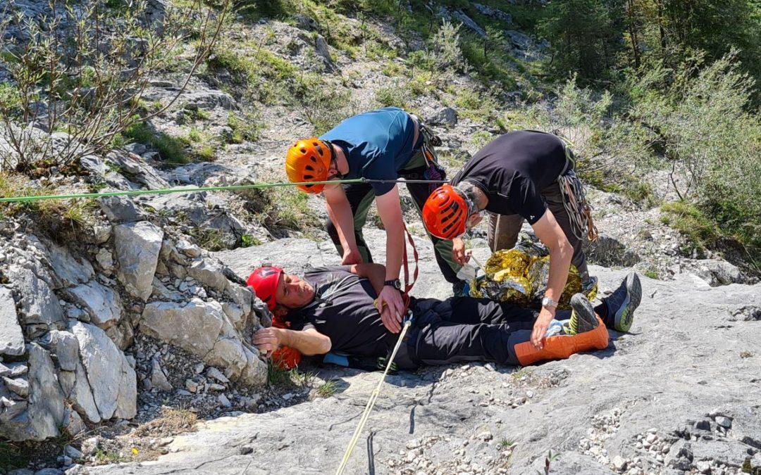 DAV Fortbildung 1. Hilfe und Bergrettung
